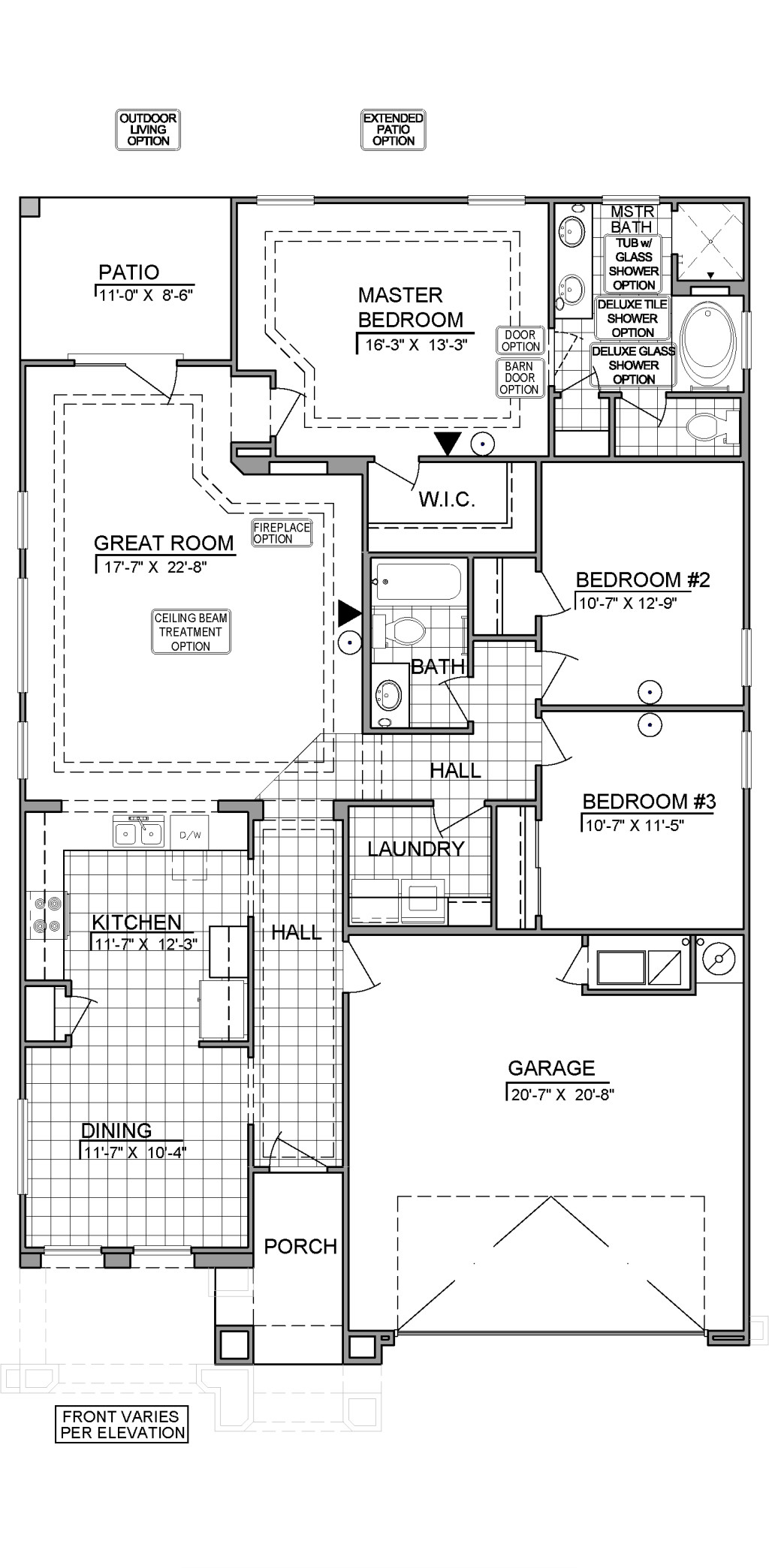 1630 at Metro Verde Floor Plan