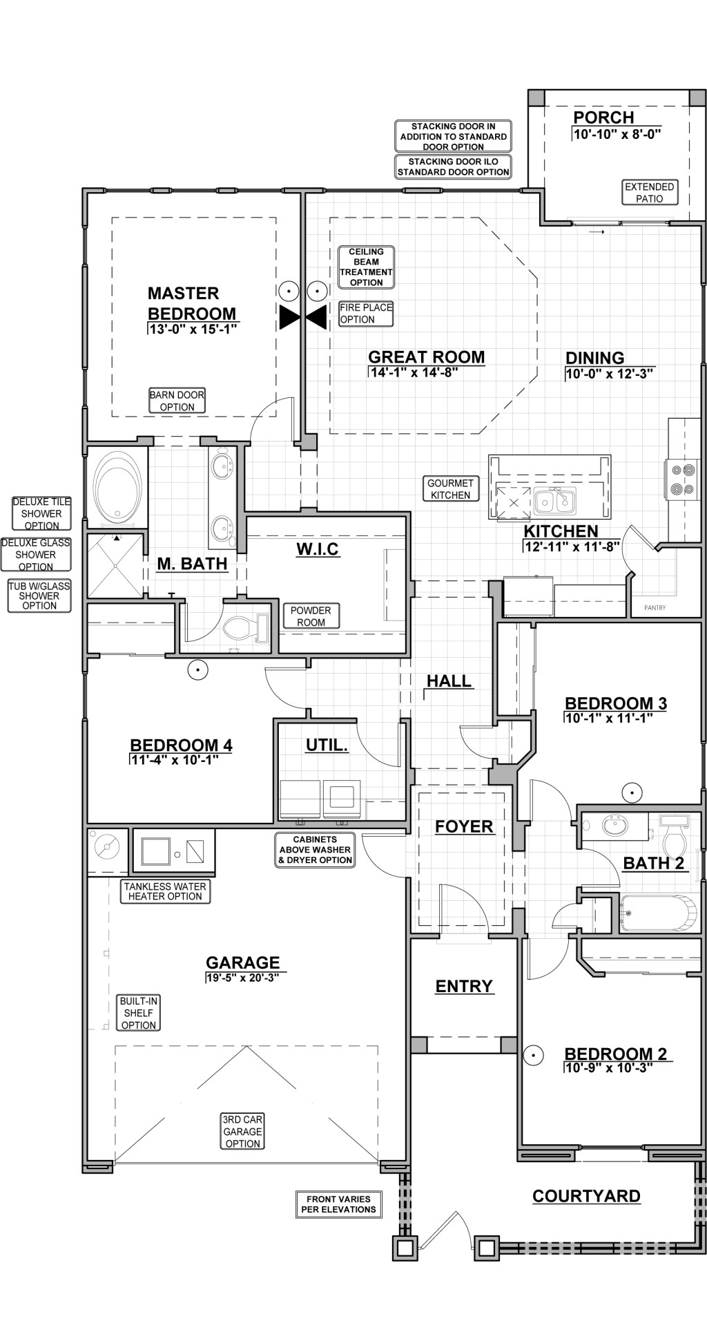 Emerald Park Estates 1740 Floor Plan