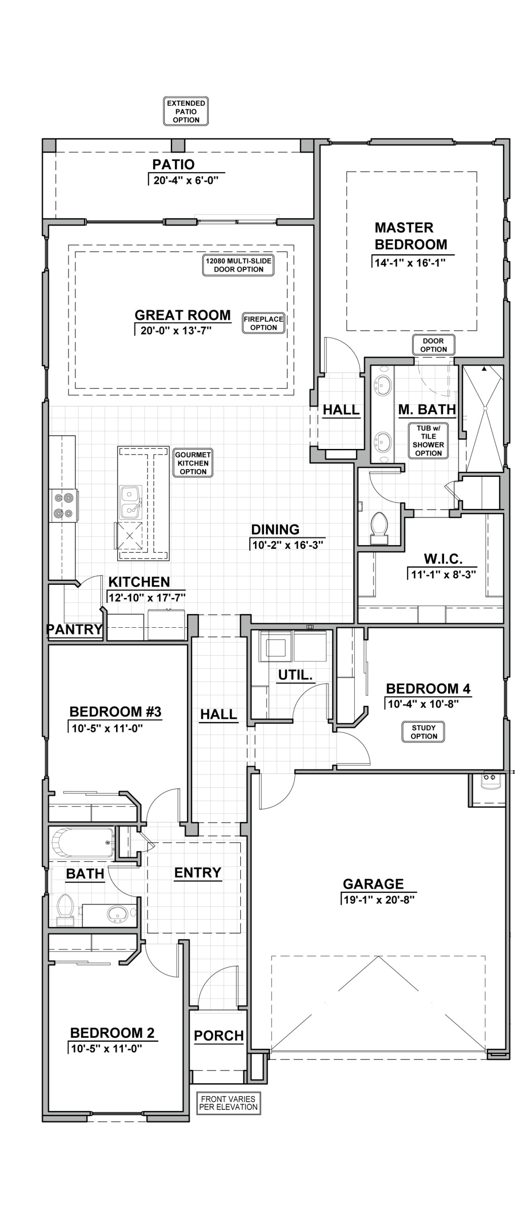Valle Prado 1907 Floor Plan