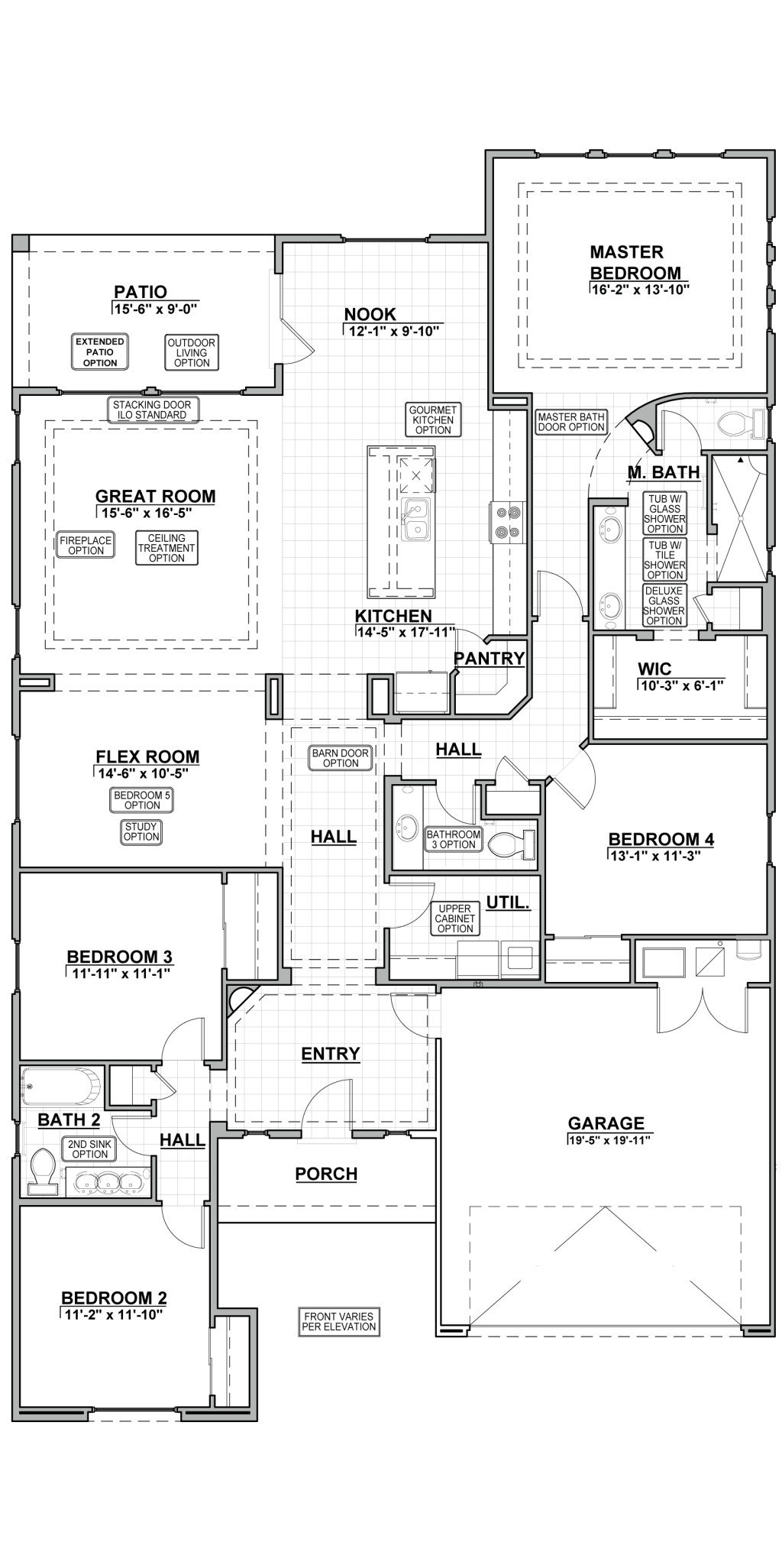Suez Estates 2356 Floor Plan