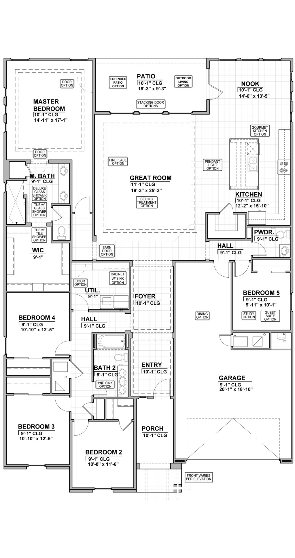 Suez Estates 2740 Floor Plan