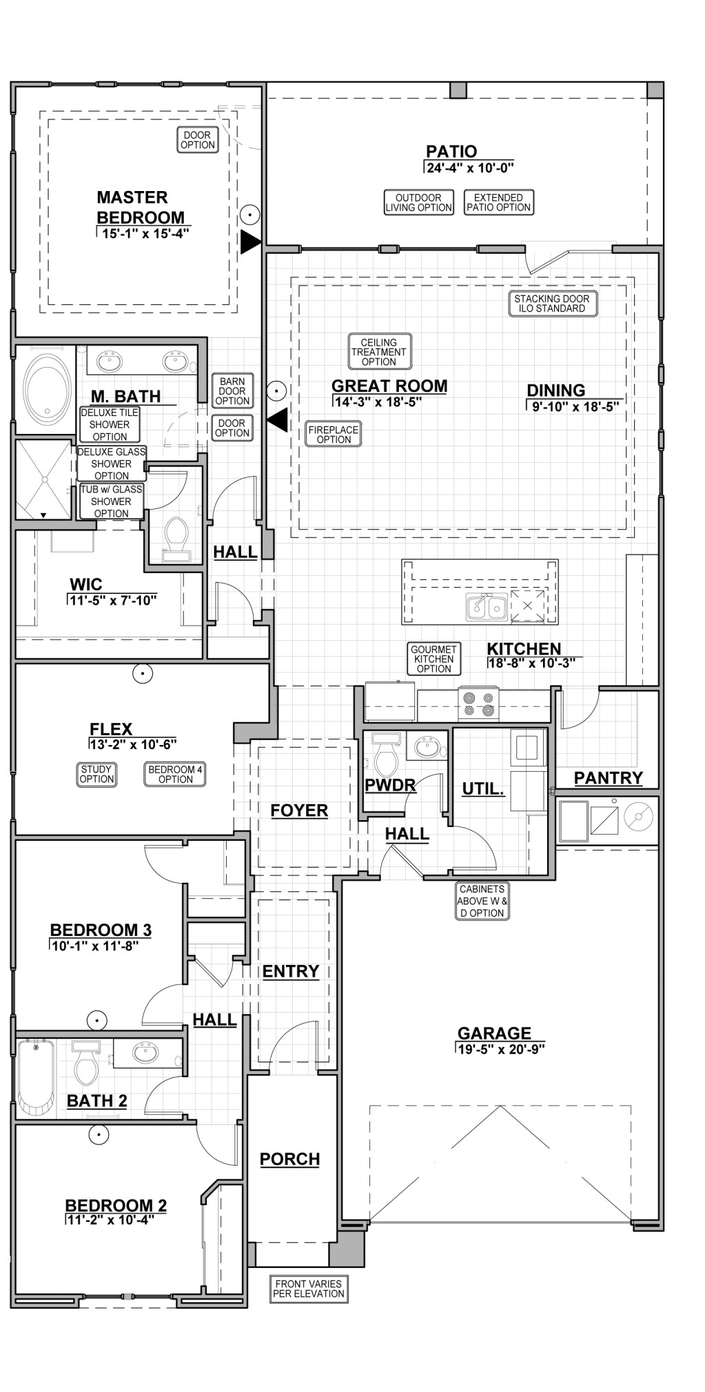 Red Hawk Villas Kingston 2124 Layout Raster