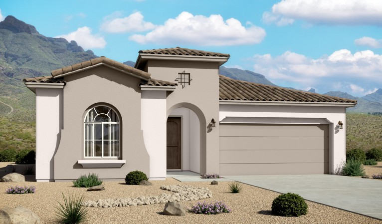 Red Hawk Villas 2124 Mediterranean Elevation