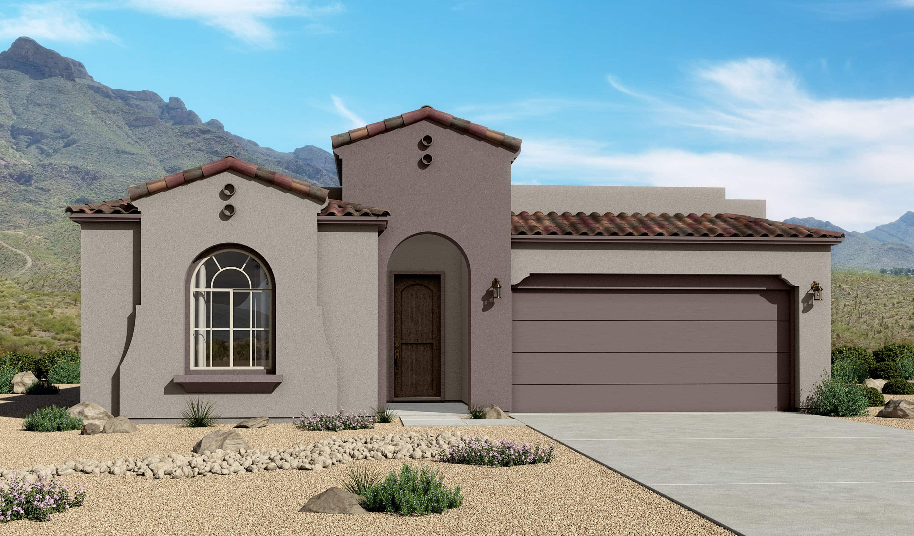 Red Hawk Villas 2124 Spanish Elevation